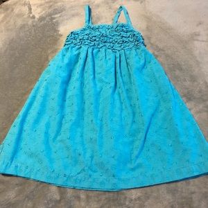 Other - 💝 Ruffled Turquoise Summer Dress Size 4